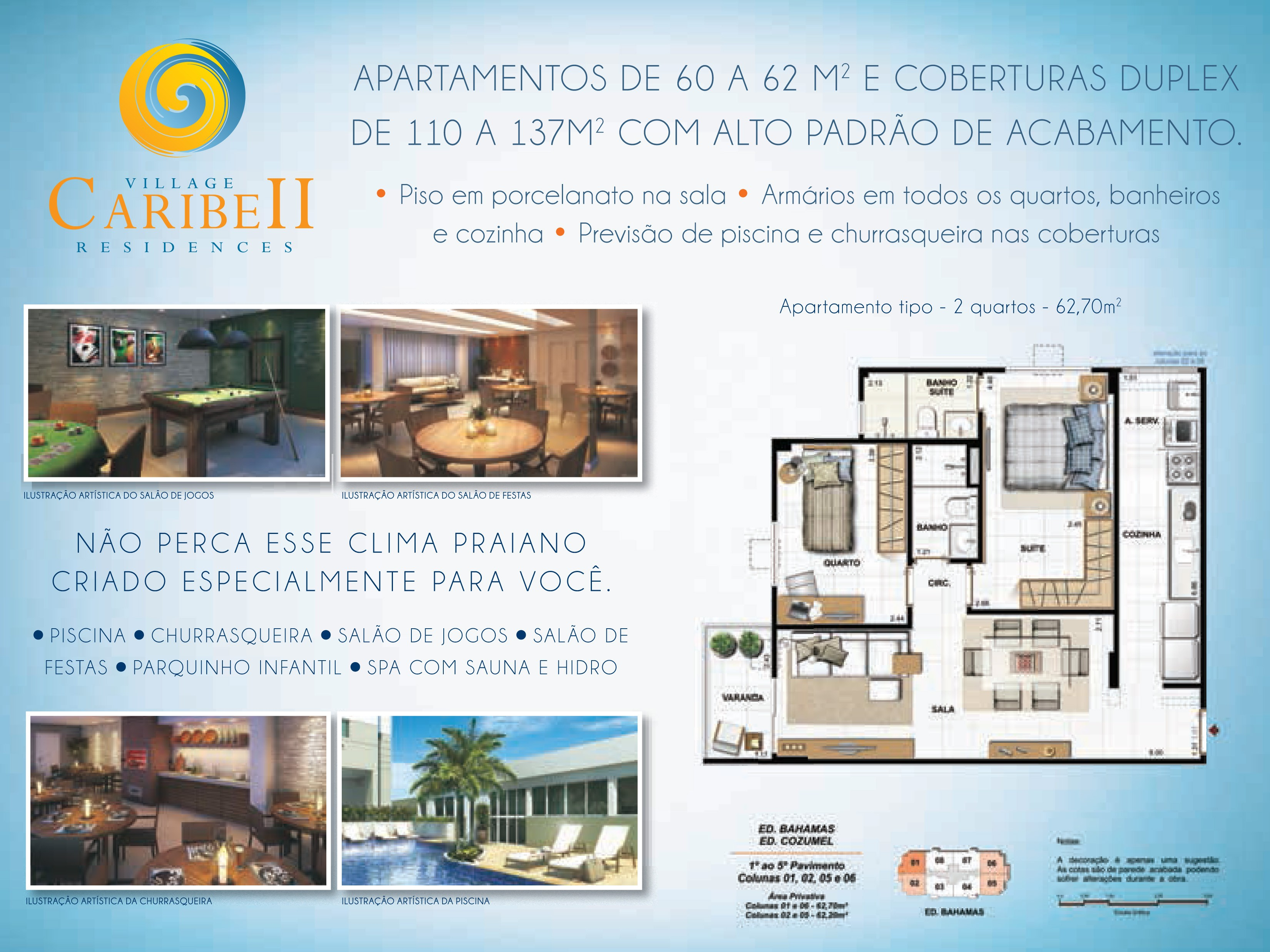 Santinho Village Caribe Residences 2 - Verso