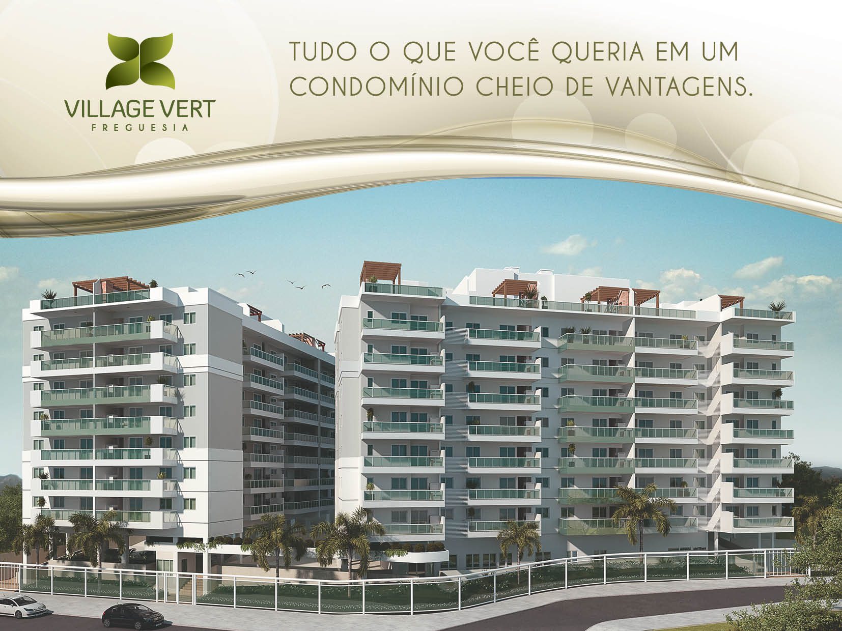 Folheto Village Vert