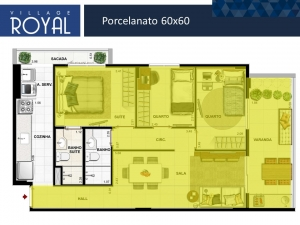 Village Royal - Porcelanato 60x60