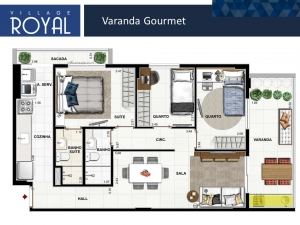 Village Royal - Varanda Gourmet