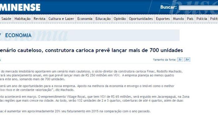 27.02.15 - O Fluminense On Line